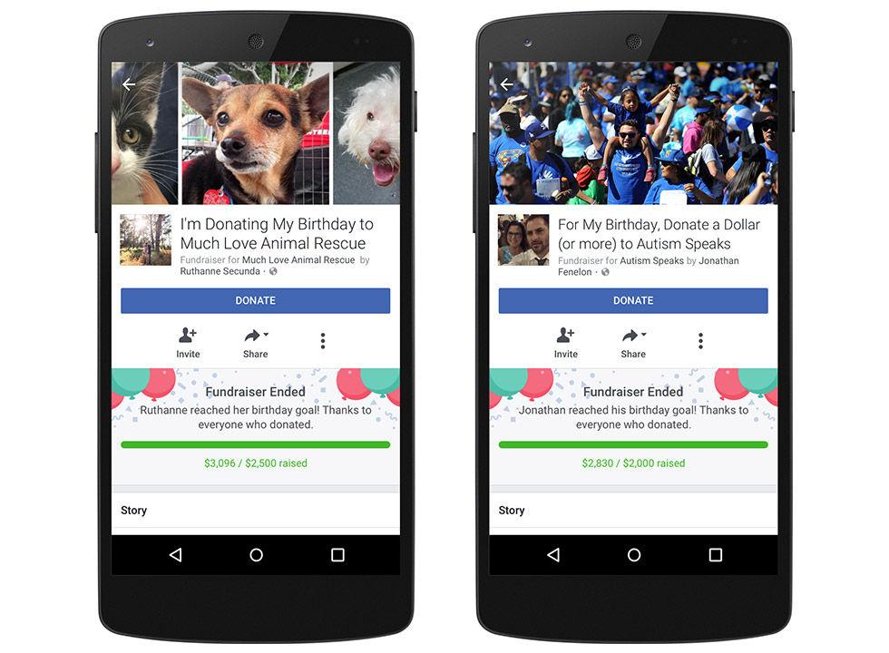 Facebook vill att vi ska donera våra födelsedagar