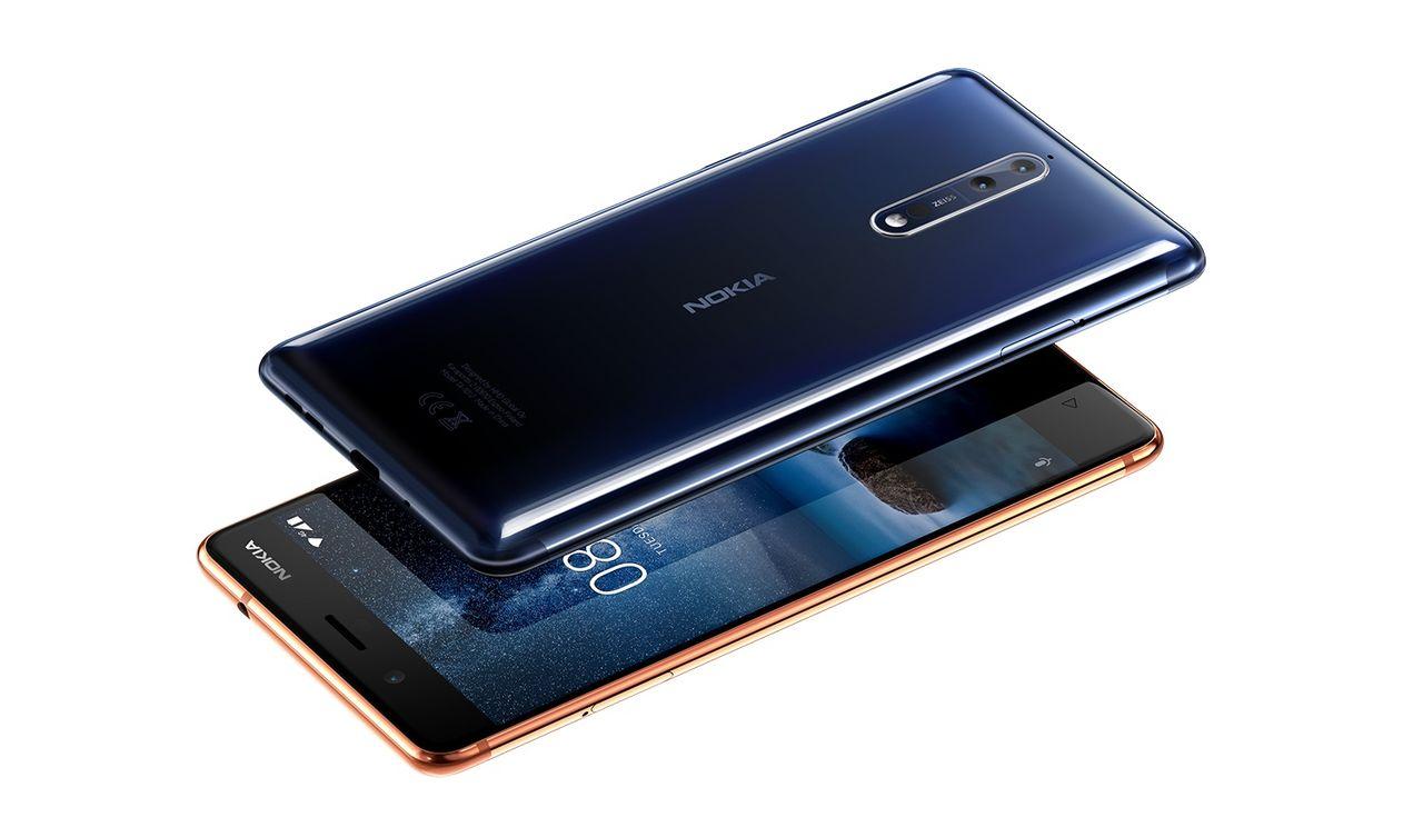 Nokia presenterar 8