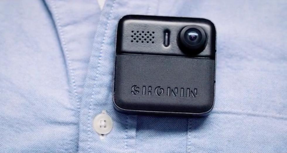 Shonin är en personlig bodycam