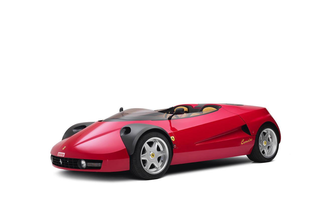 Den här Ferrarin gjordes bara i ett exemplar