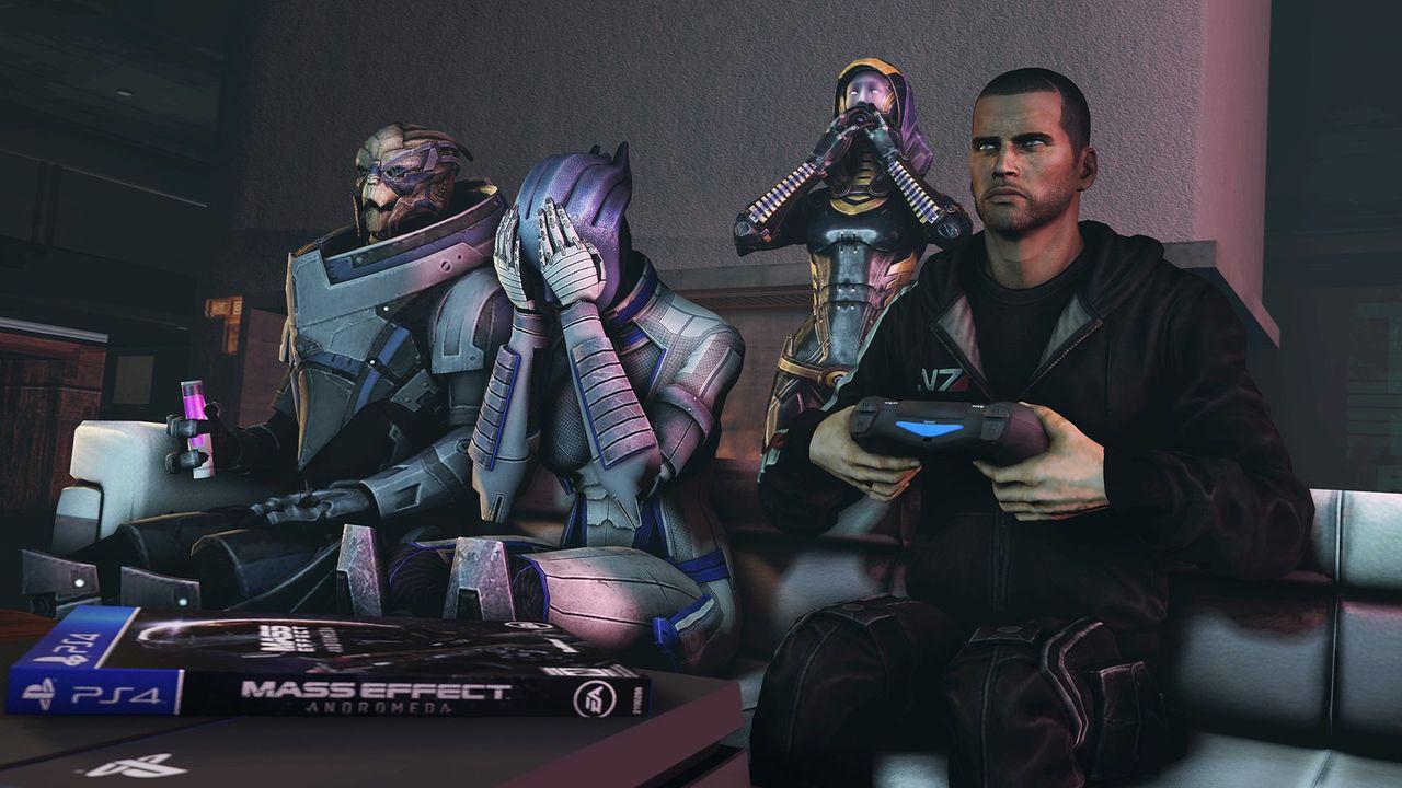 Inget mer DLC till Mass Effect: Andromeda