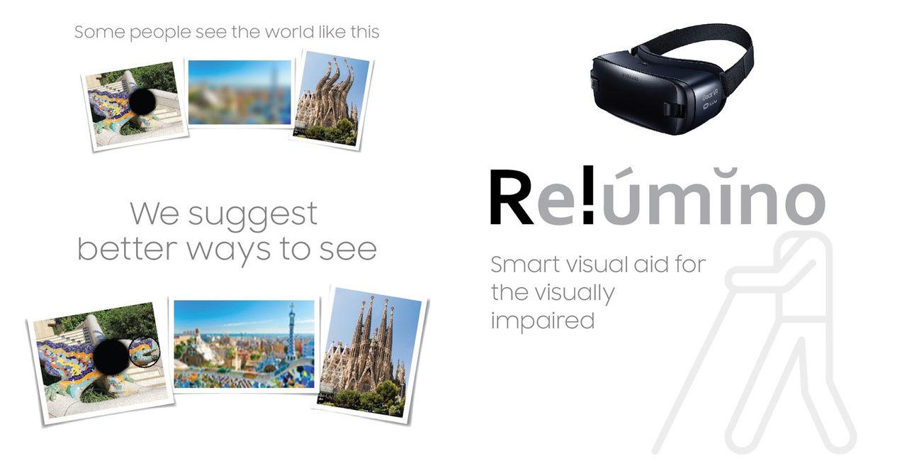 Samsung Gear VR hjälper synskadade att se bättre