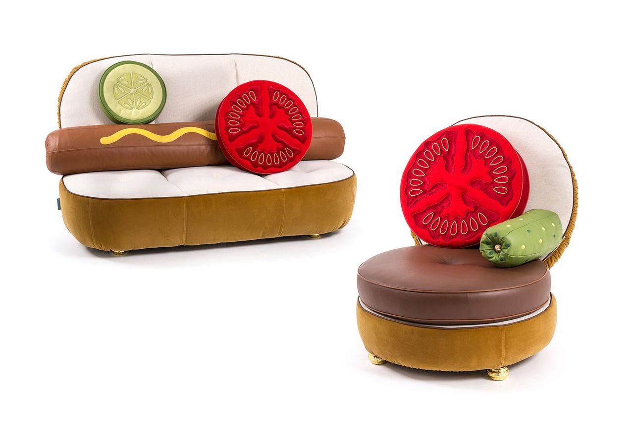 Möblerna för dig som gillar korv och burgare