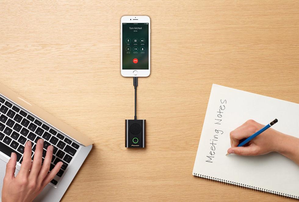 Pioneer Rally gör om din iPhone till konferenssystem