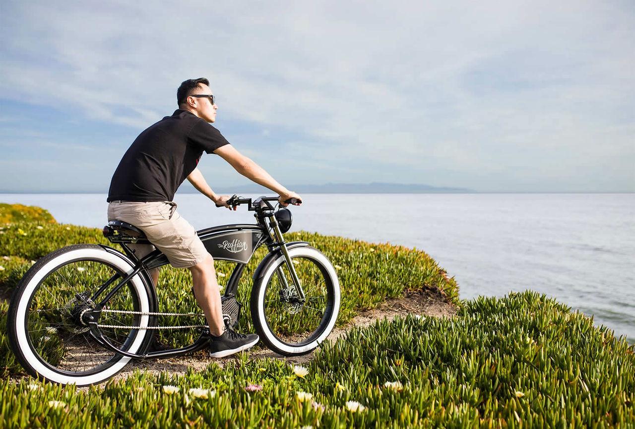 Den här elcykeln andas 20-tal