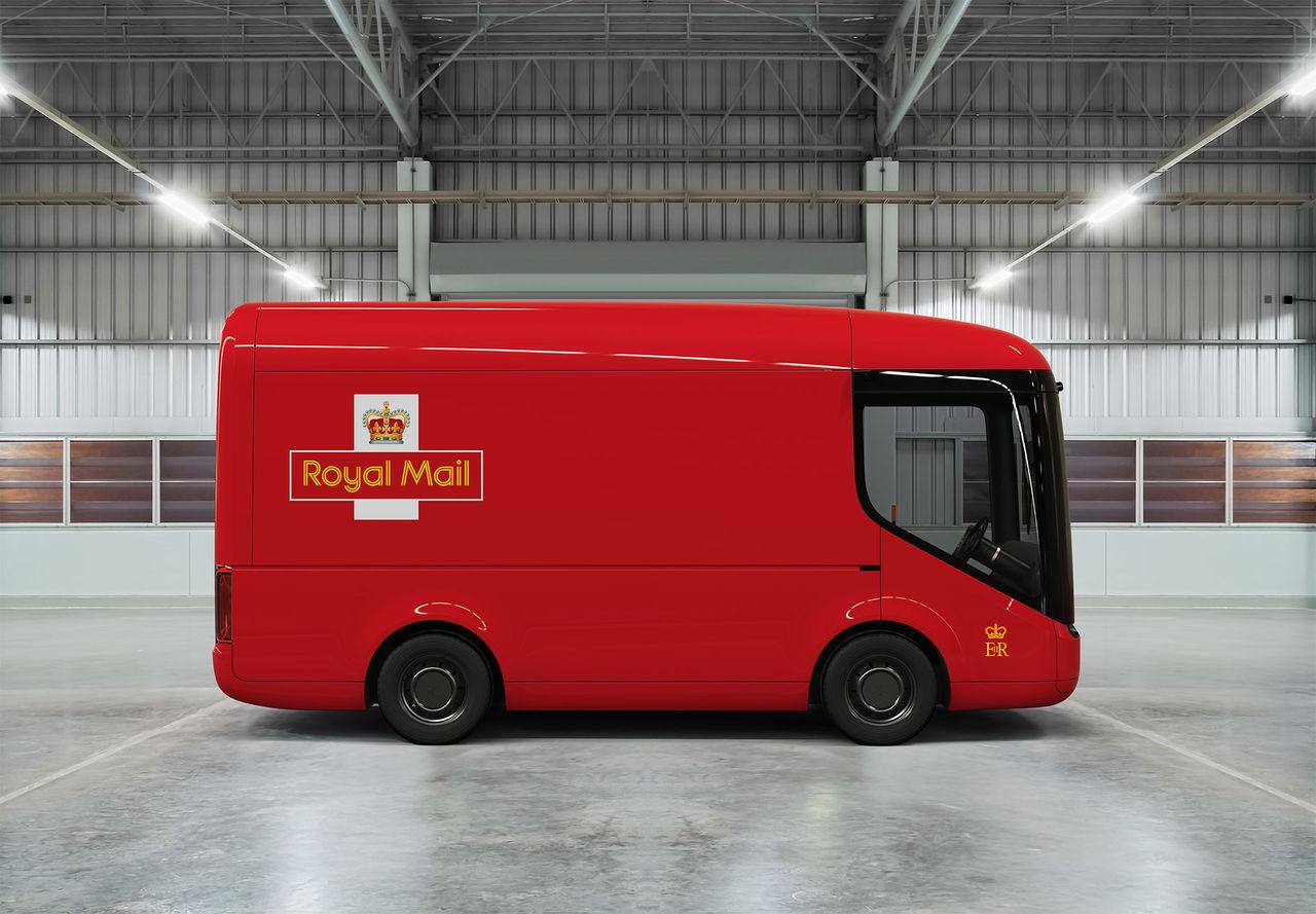 Här är Royal Mails nya postbilar