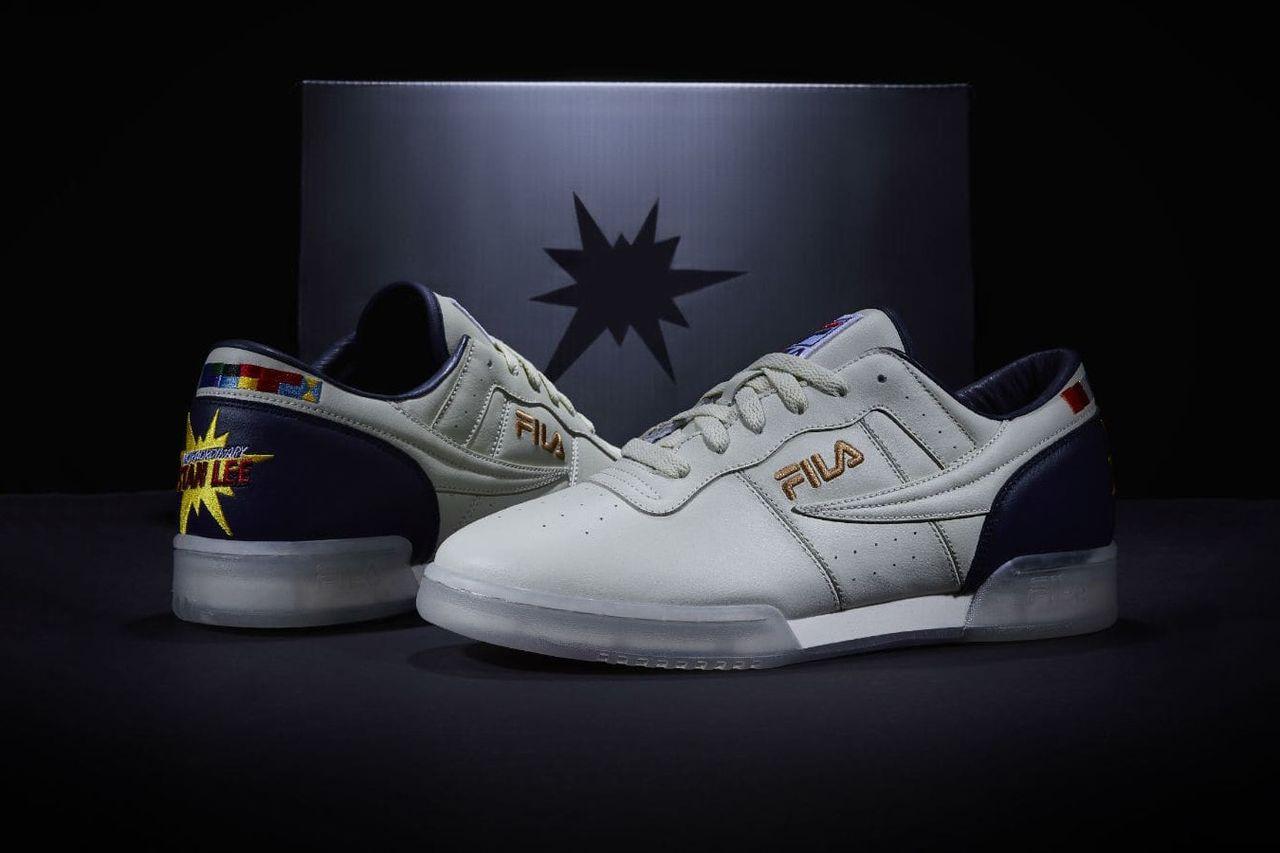 Fila hyllar Stan Lee med Stan Lee-sneakers