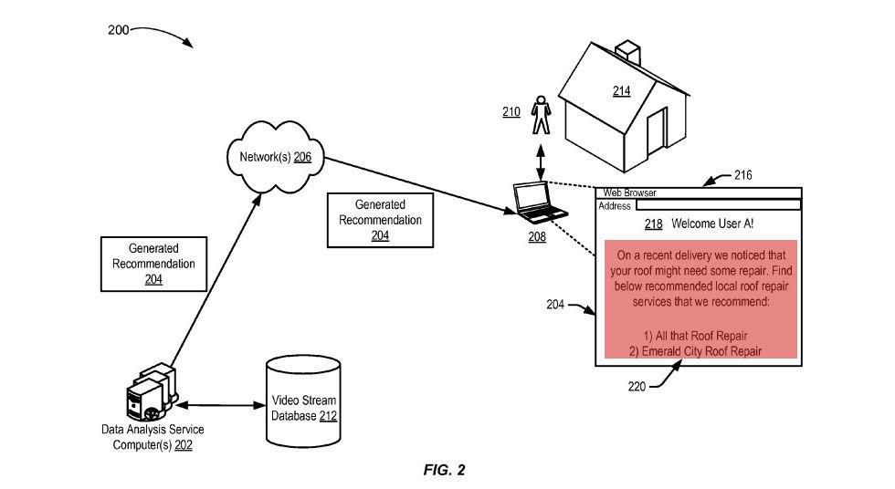 Amazon planerar att kolla in ditt hus när de levererar varor