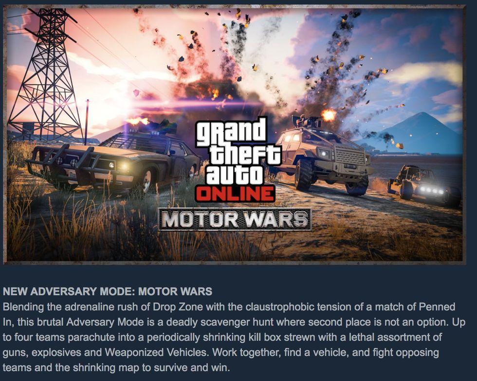 Grand Theft Auto Online får ett Battle Royale-läge
