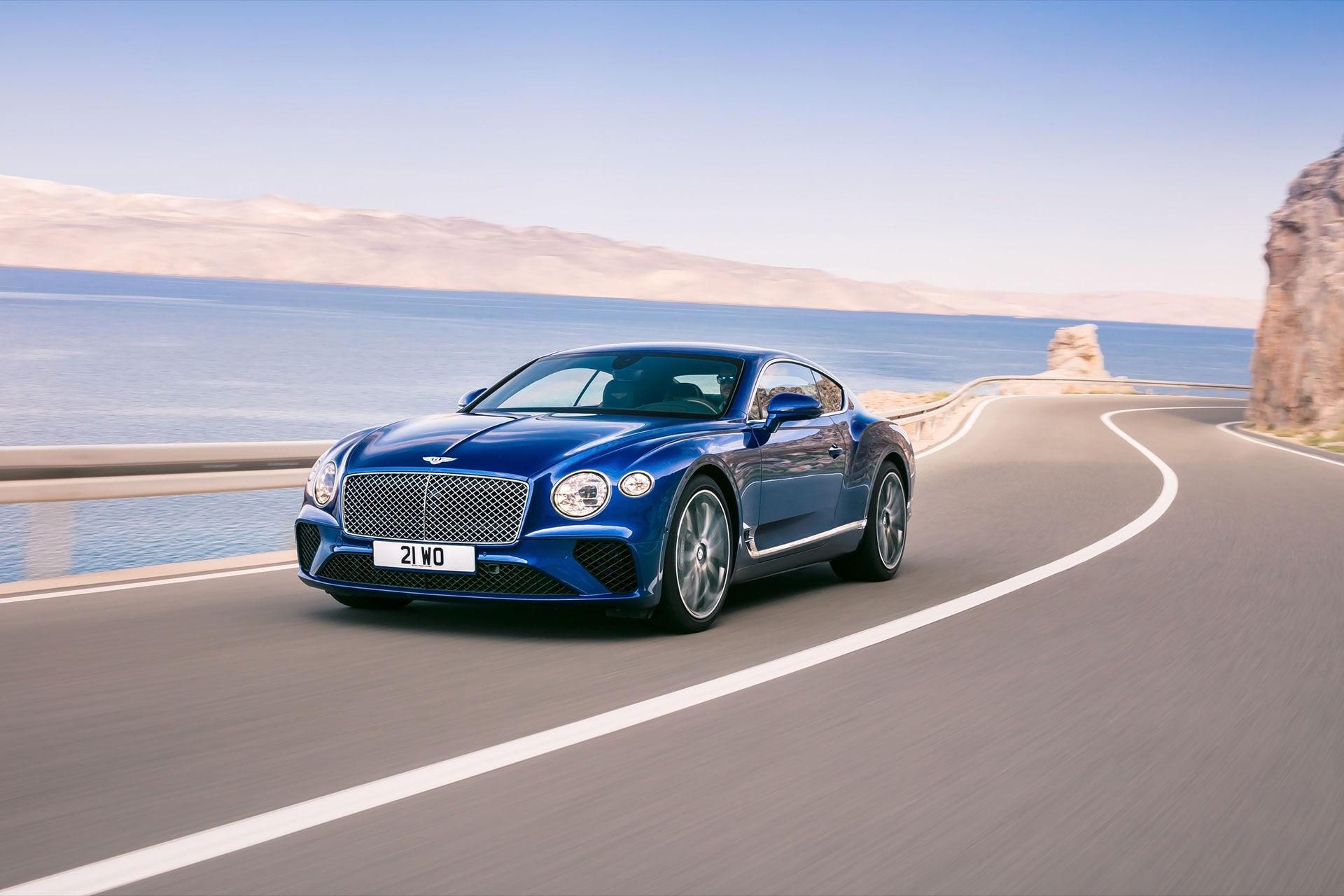Det här är nya Bentley Continental GT!
