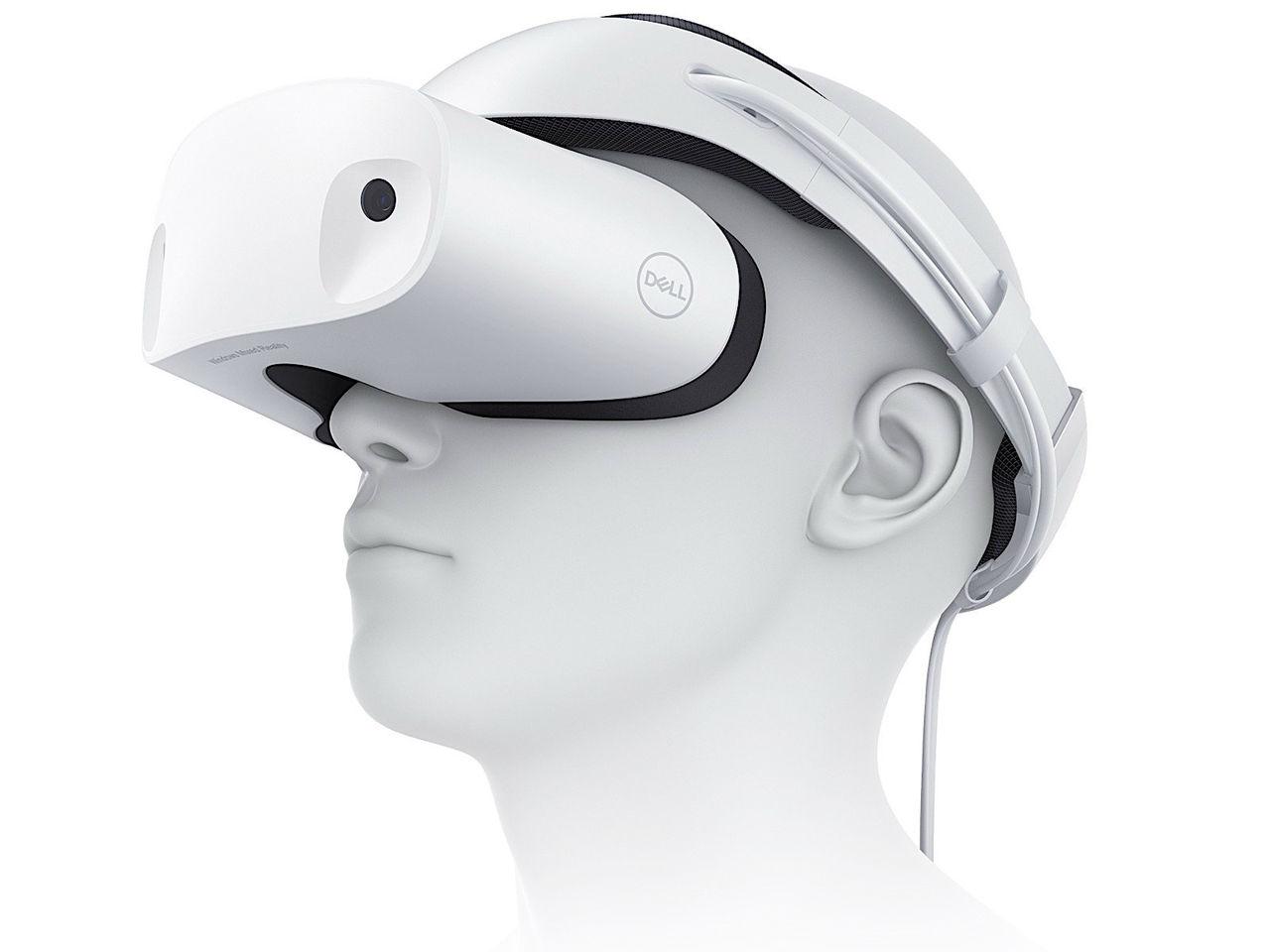 Dell visar headset för Windows Mixed Reality