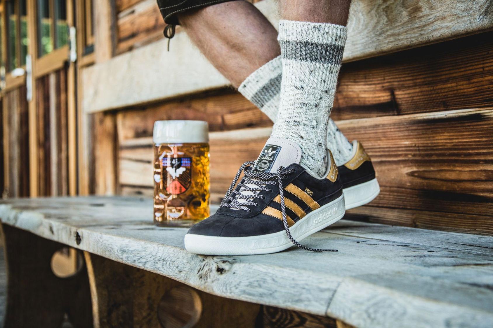 Skorna som klarar både öl och kräk