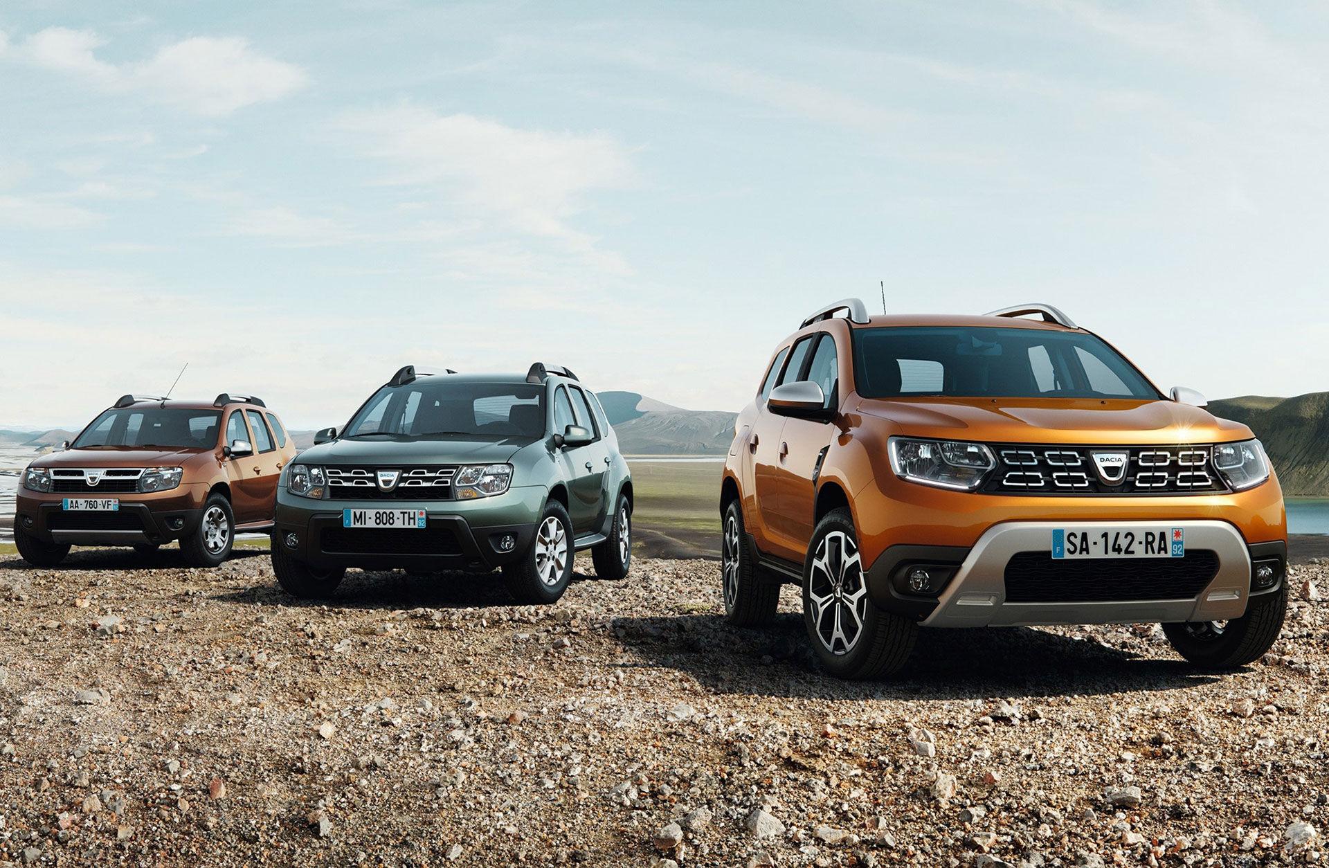 Det här är nya Dacia Duster