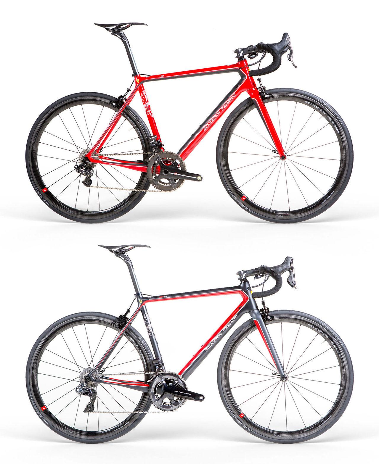 Ferrari och Bianchi gör cyklar tillsammans