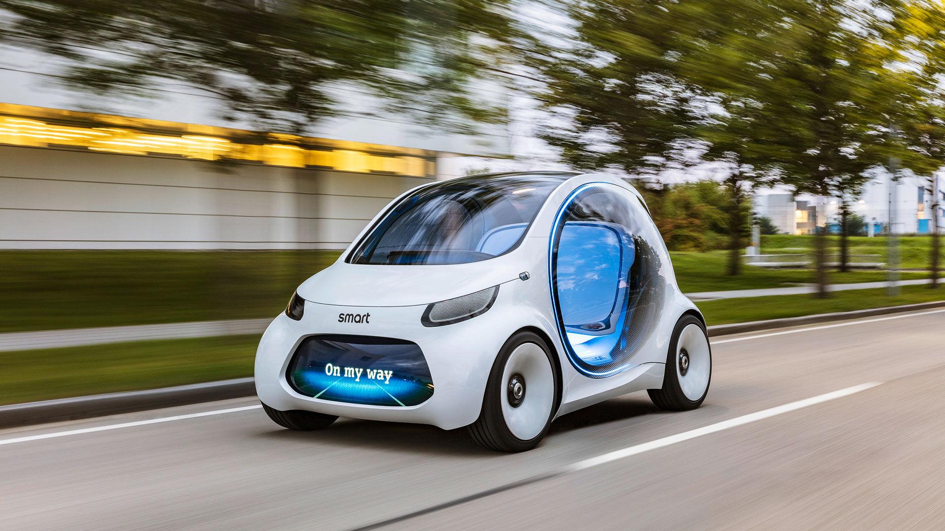 Smart visar upp coolt framtidskoncept