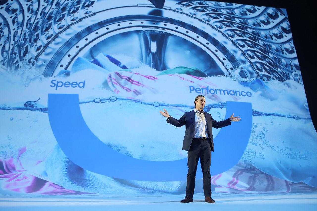 Samsung vill halvera tvättiden med QuickDrive