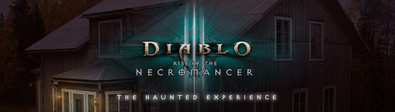 Snart ska ett Diablo III-fan hänga i ett hemsökt hus
