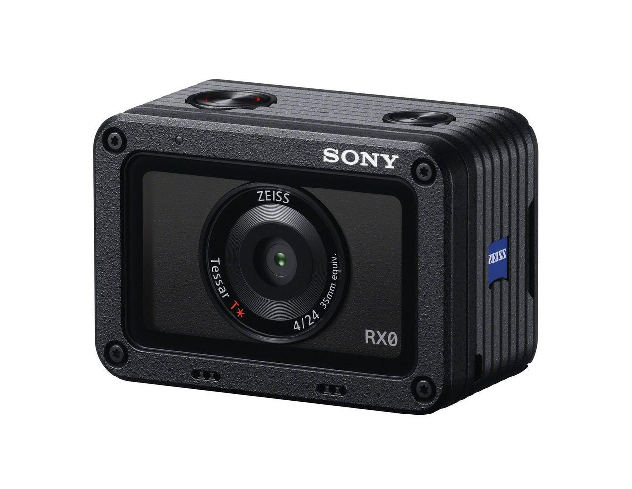 Sony presenterar actionkameran RX0