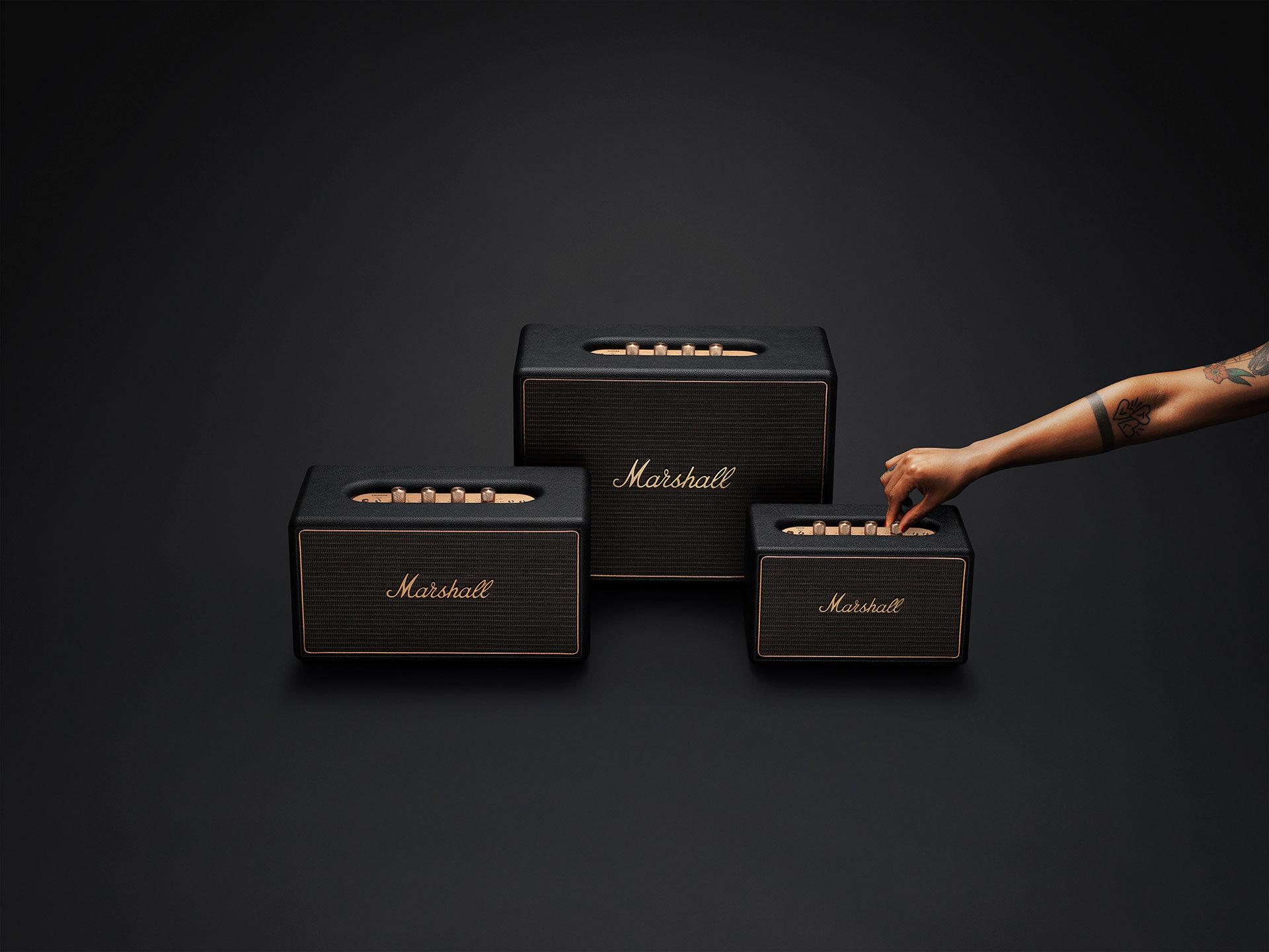 Marshalls högtalare får multiroomstöd