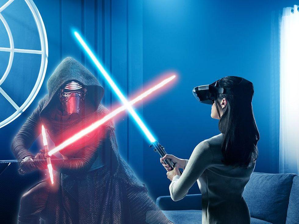 Lenovo presenterar AR-headset för mobilen