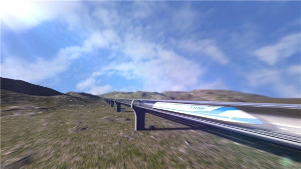 Kinesiskt företag ska utveckla konkurrent till Hyperloop