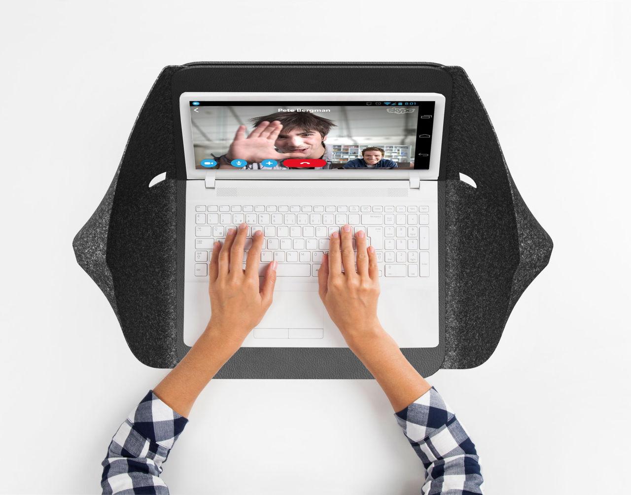 Laptopfodralet som låter dig vara ifred