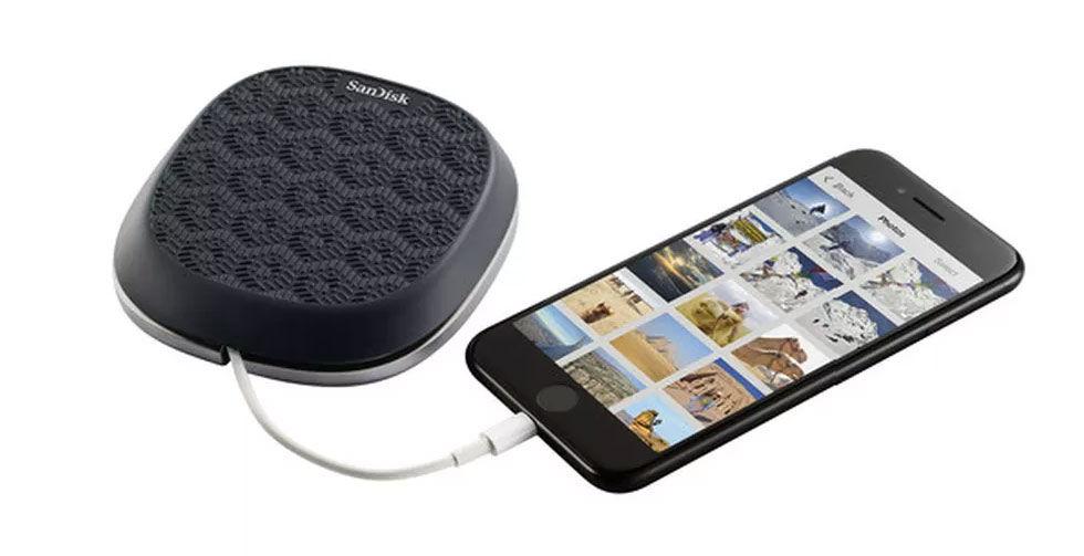 SanDisk har gjort ett powerpack som tar backup på iPhone