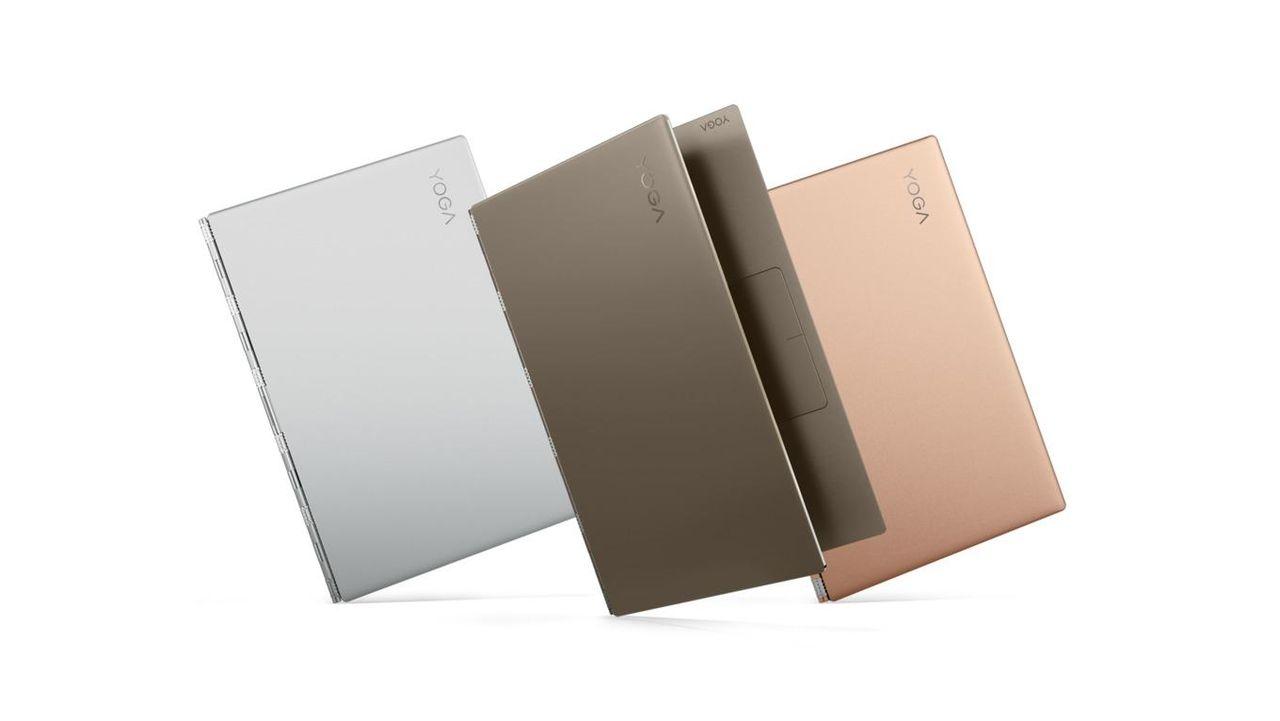Lenovo presenterar Yoga 920 och 720