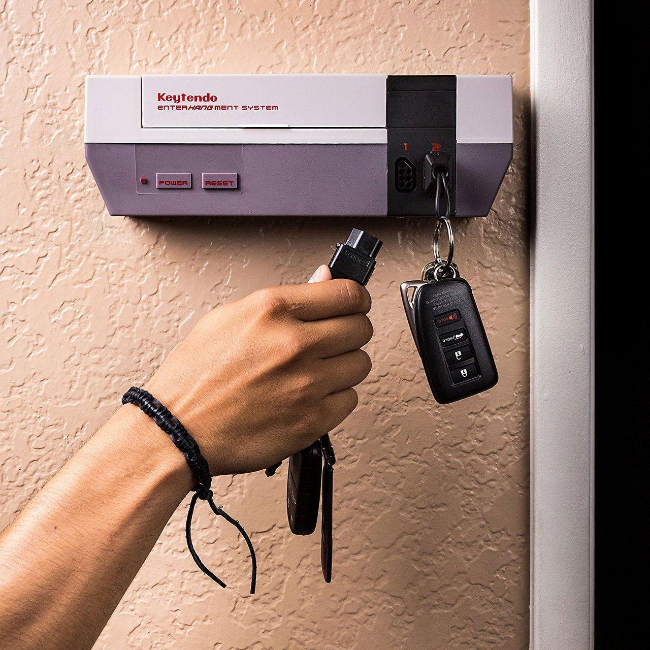 Nyckelhängaren för Nintendo-nörden