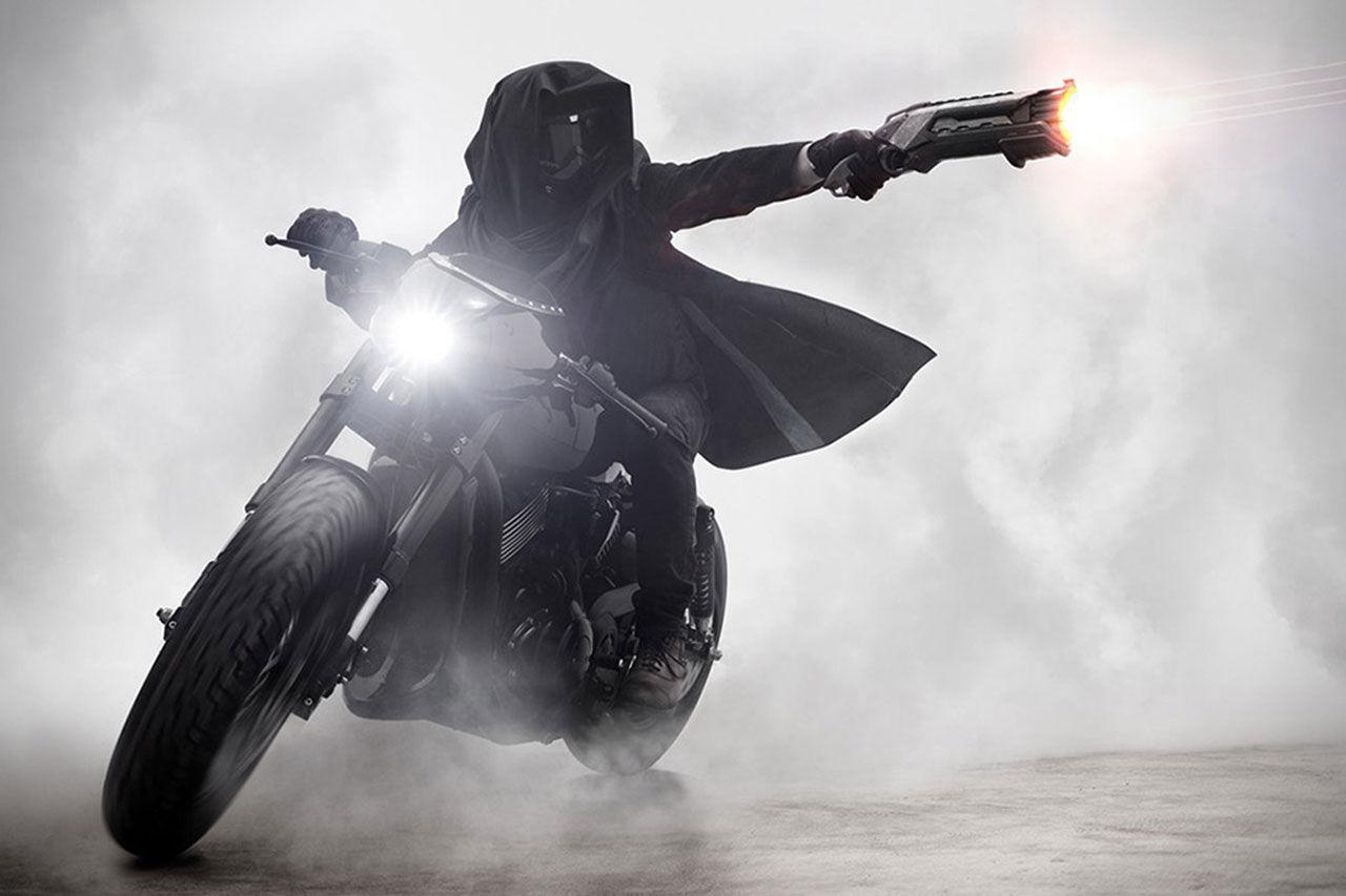 Elak hoj med Harley-hjärta från Bandit9 Motors