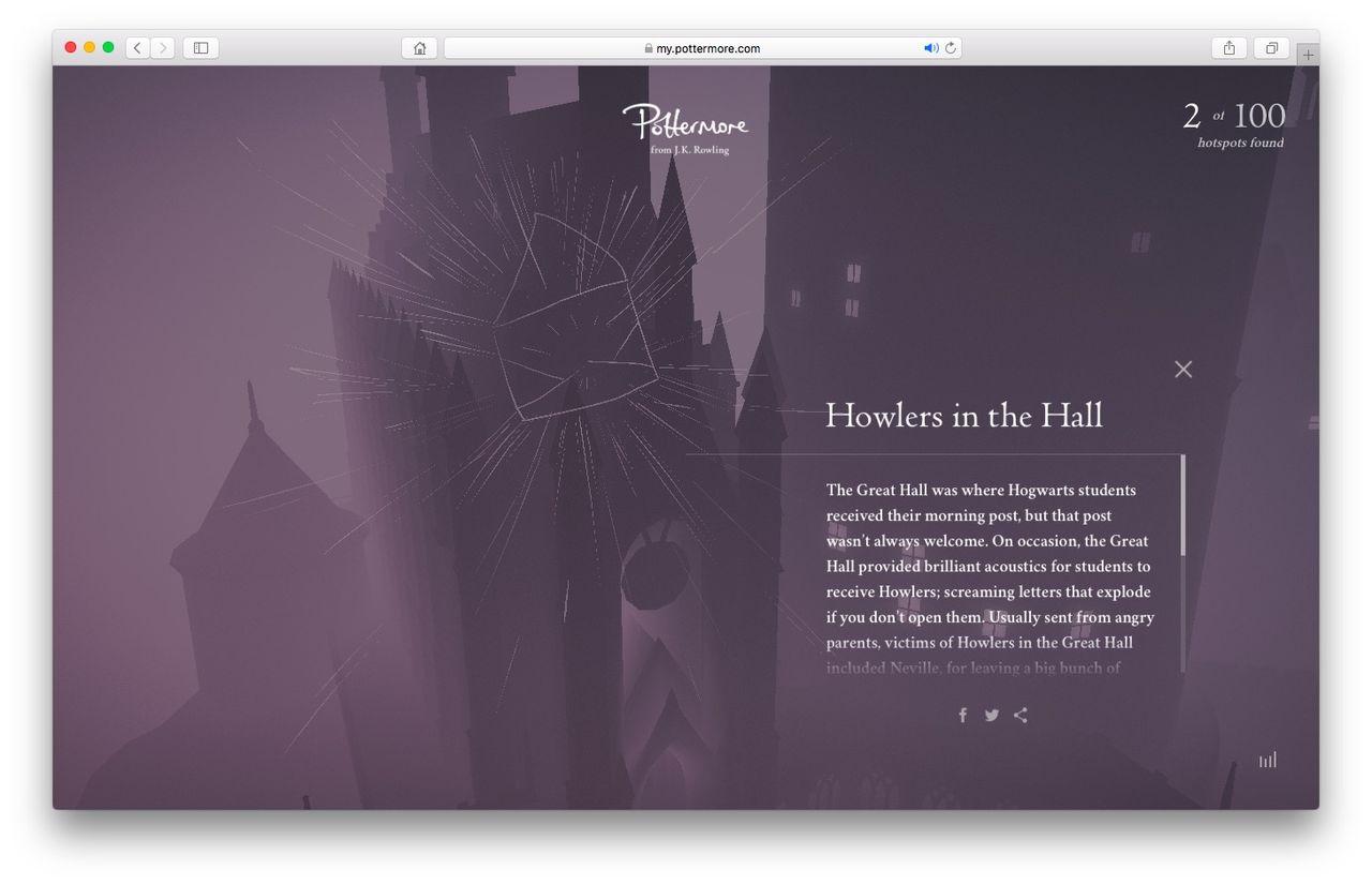Utforska Harry Potters skola i Hogwarts Experience