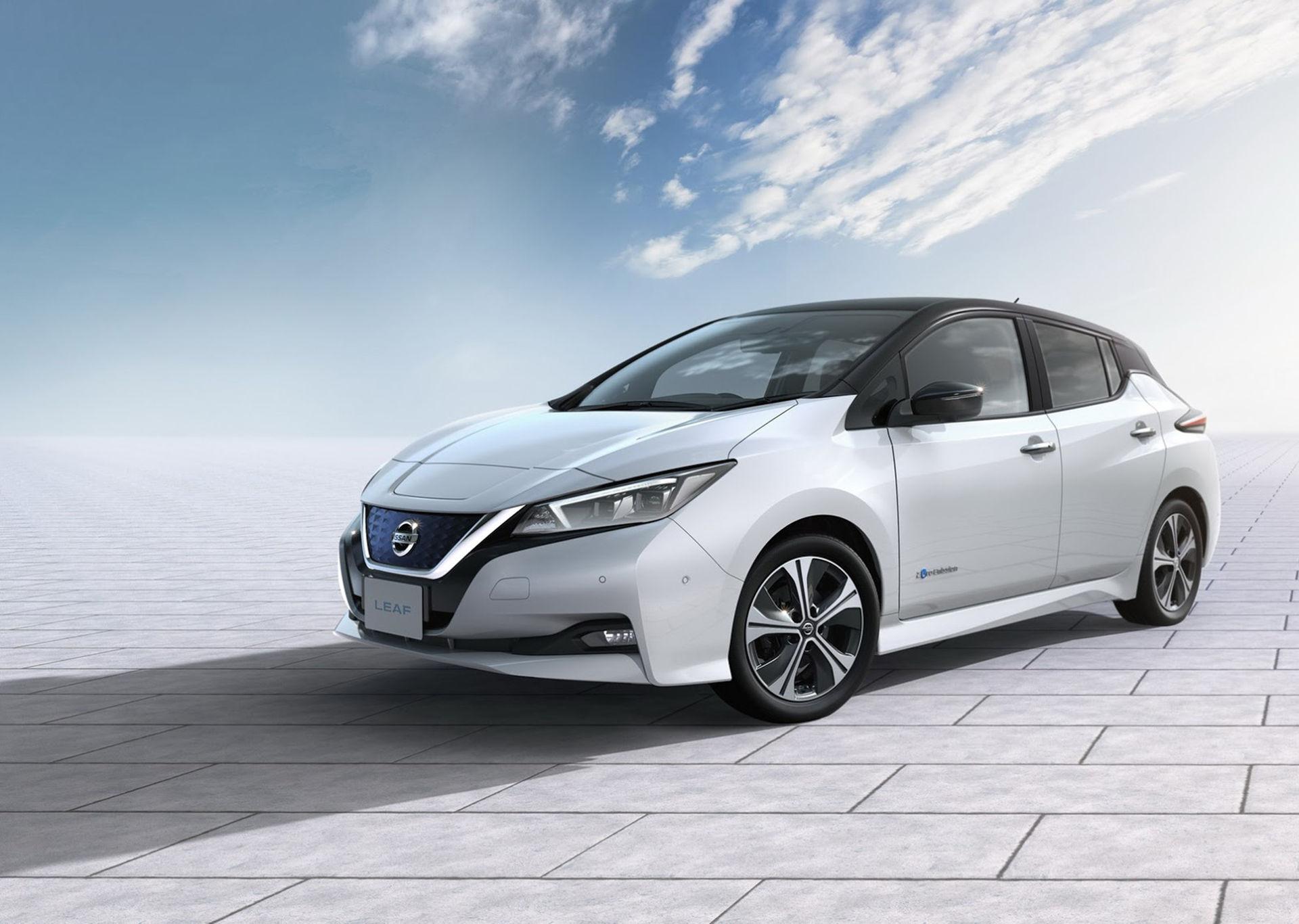 Nissan rullar ut nya Leaf