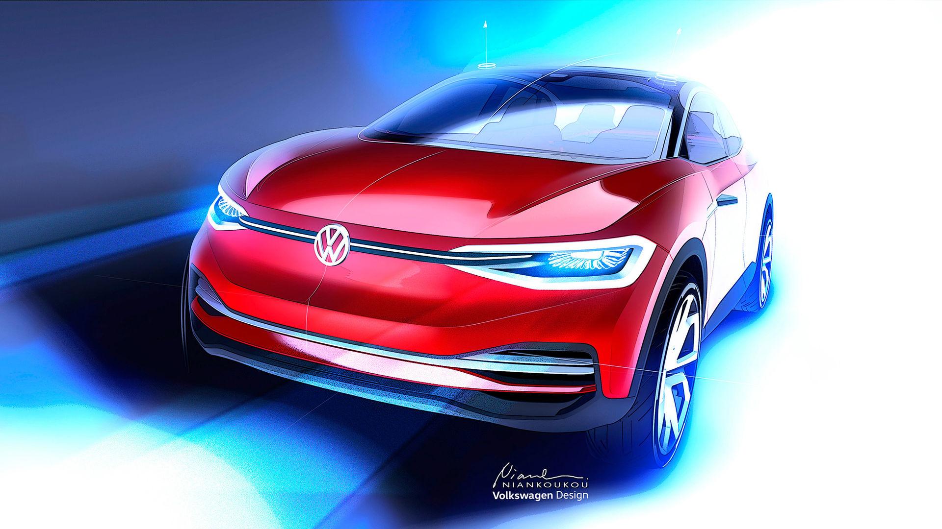 Ny version av Volkswagens elbilskoncept I.D. CROZZ