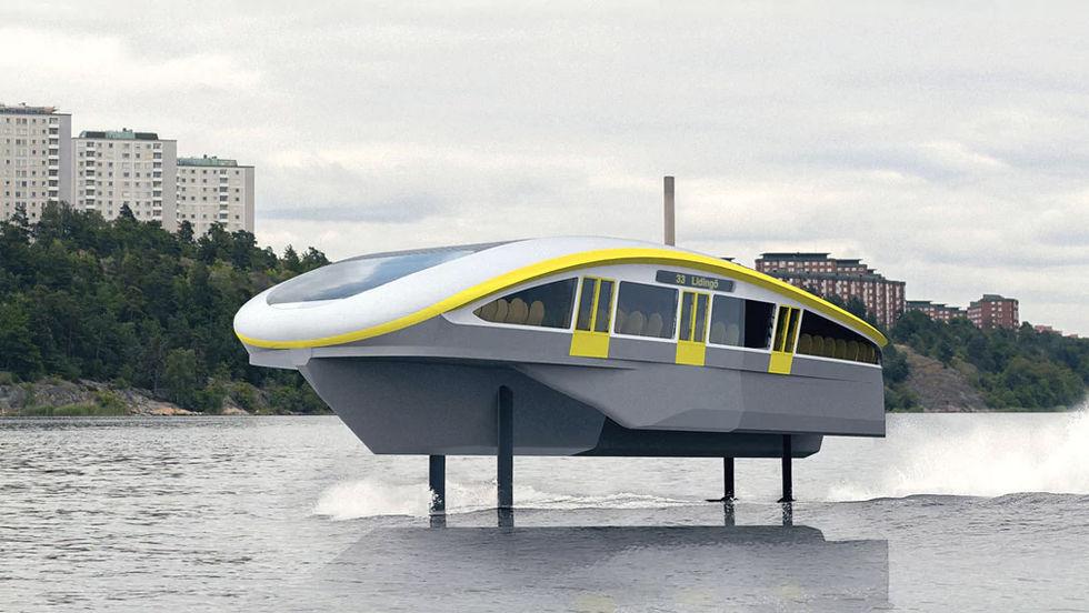 Stockholm vill ha mer kollektivtrafik på vatten