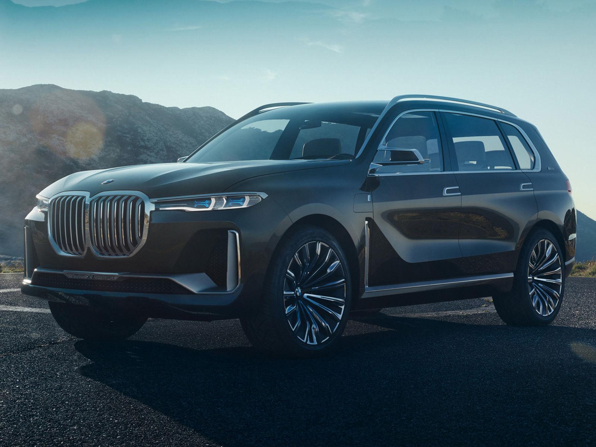 BMW tar med sig bjässe-SUV till Frankfurt