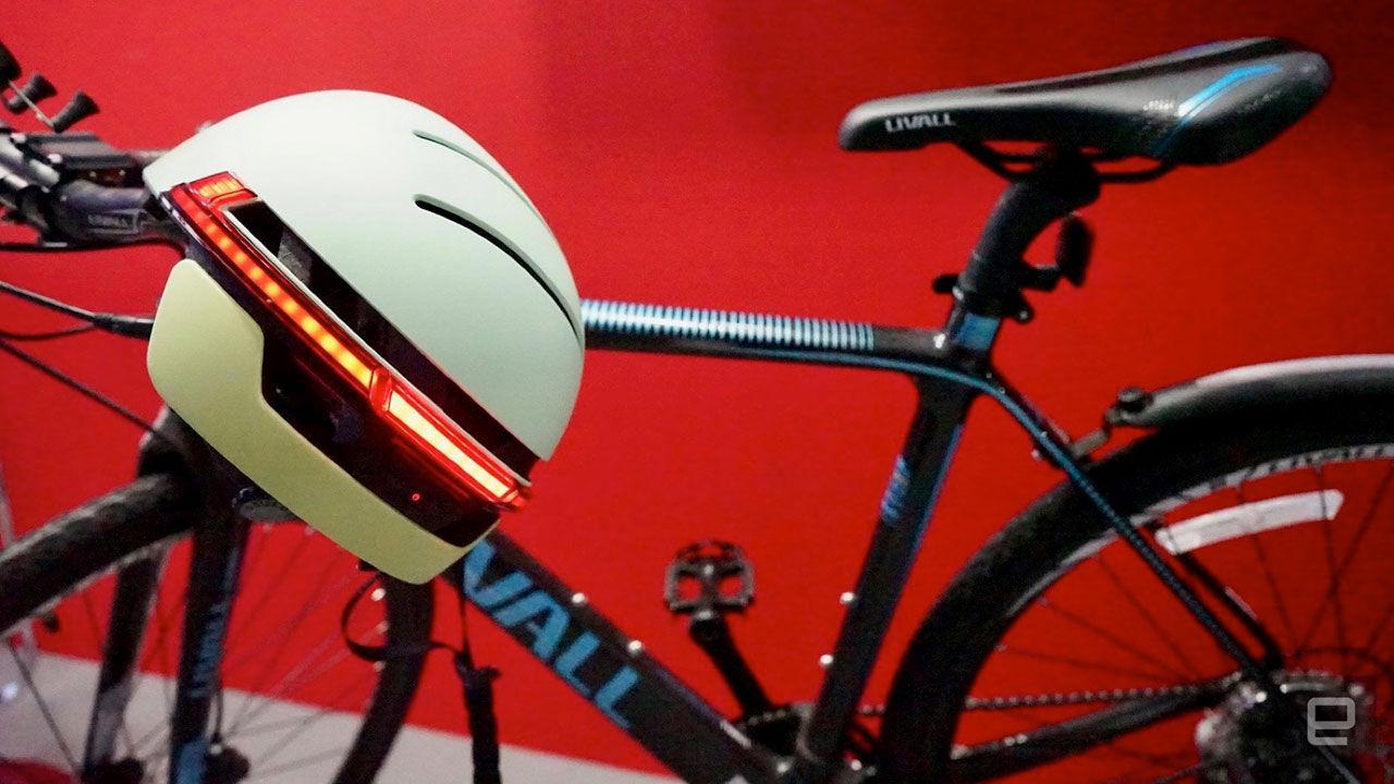 Cykelhjälm med Robocop-vibbar
