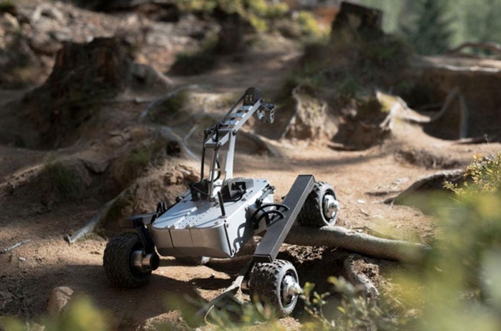 Radiostyrda Turtle Rover ser ut som en marsfarkost