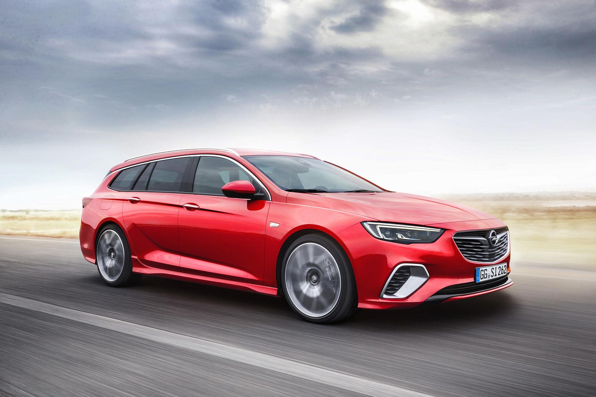 Opel Insignia GSi nu även som kombi