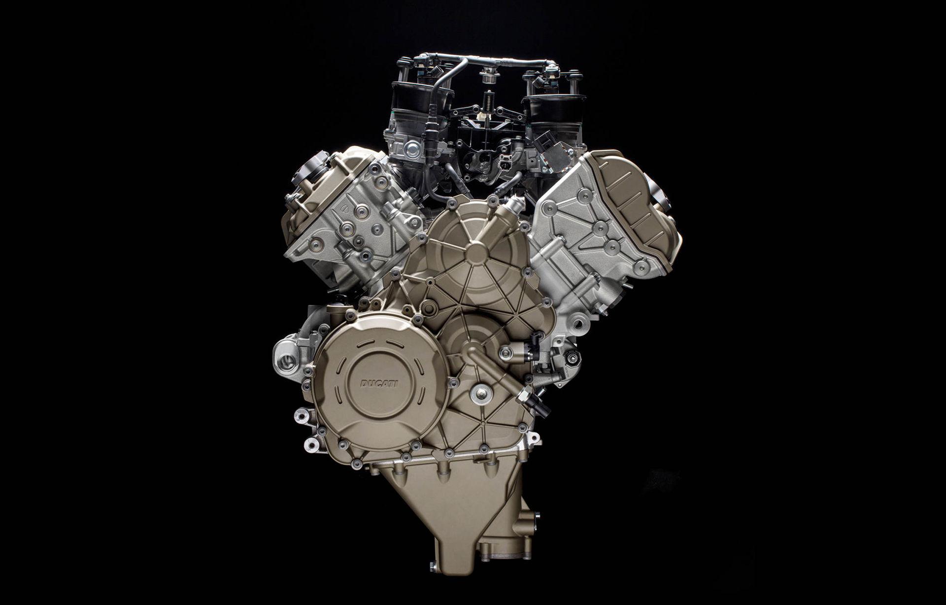 Ducati visar ny Desmosedici Stradale V4-motor
