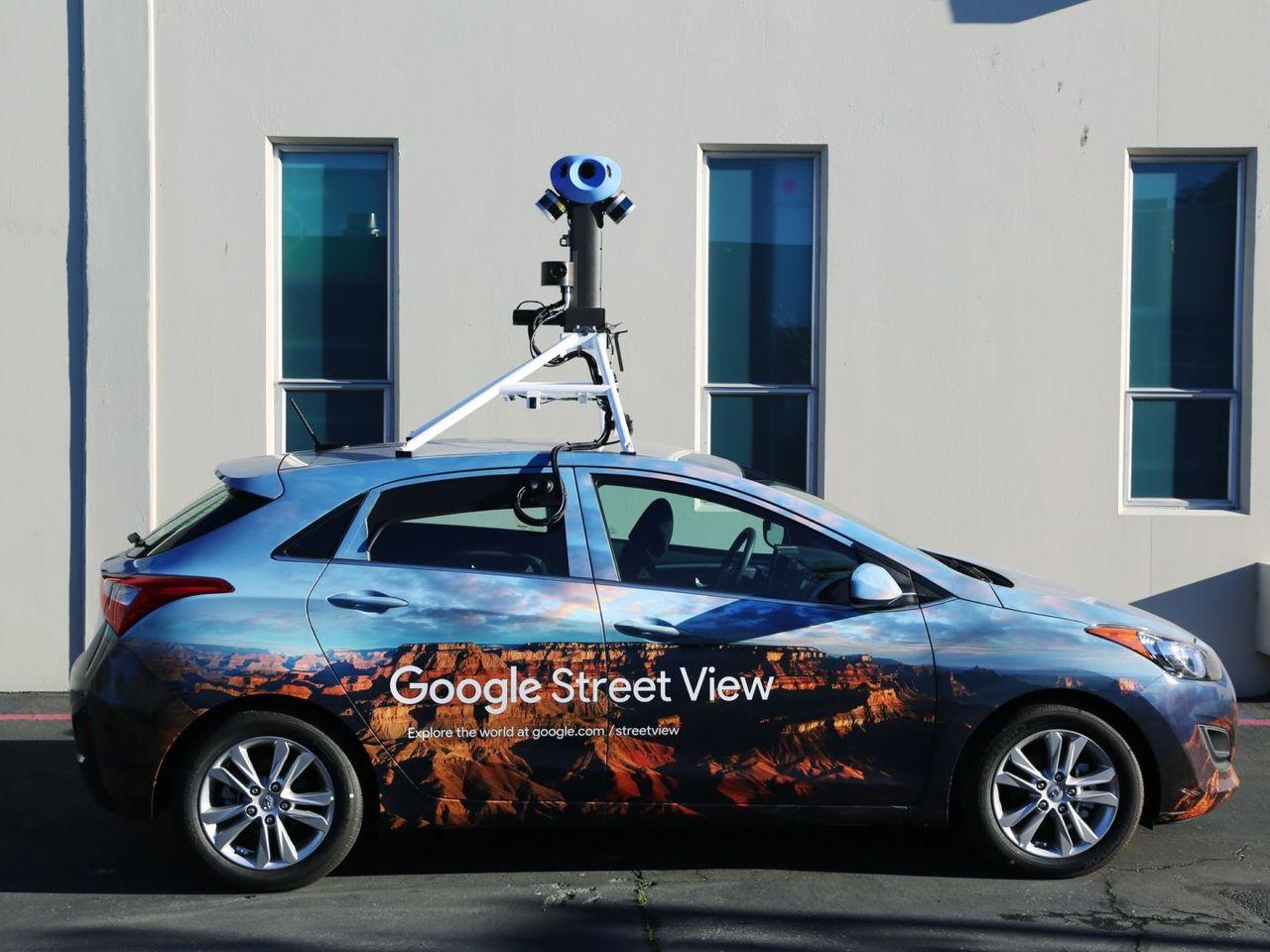 Googles street view-bilar får ny kamerarigg