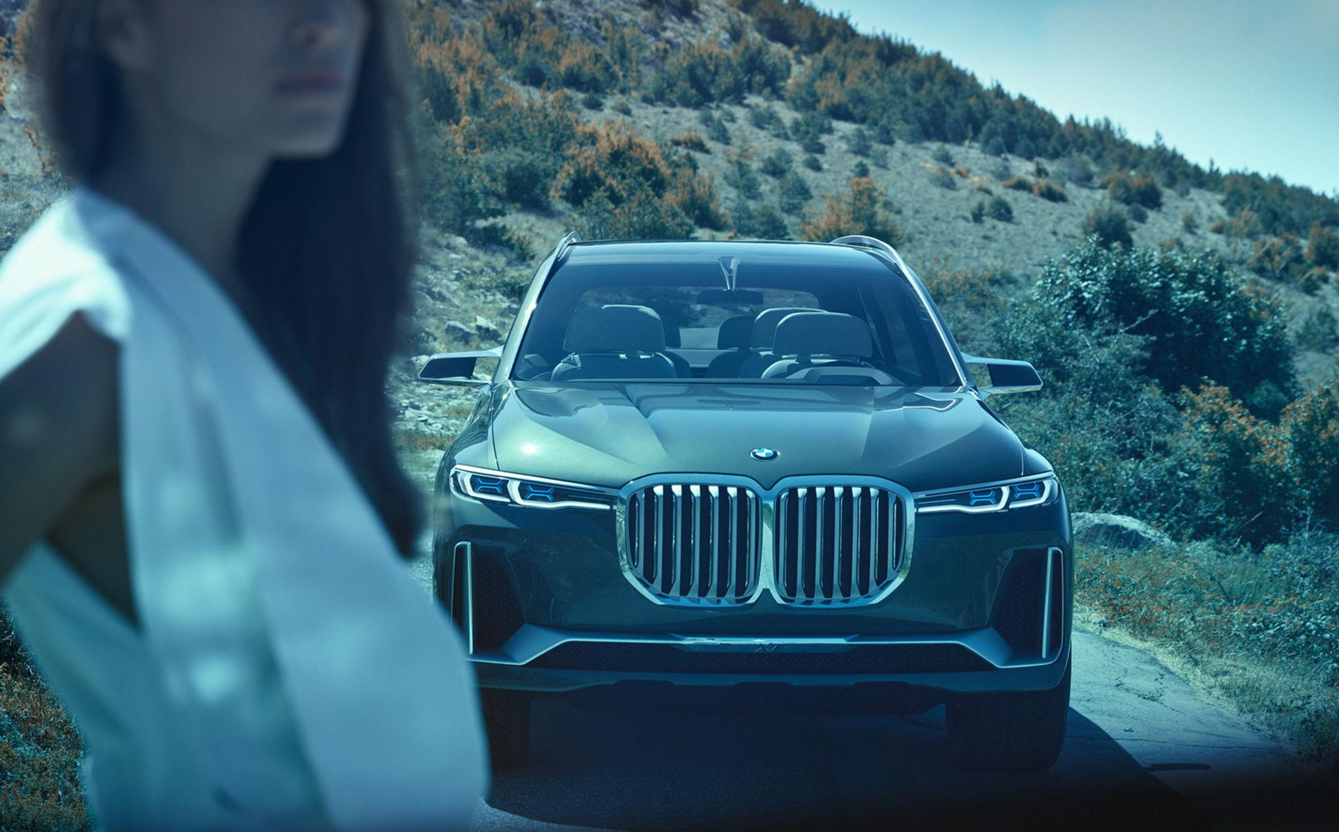 Fler bilder på BMW X7 iPerformance Concept