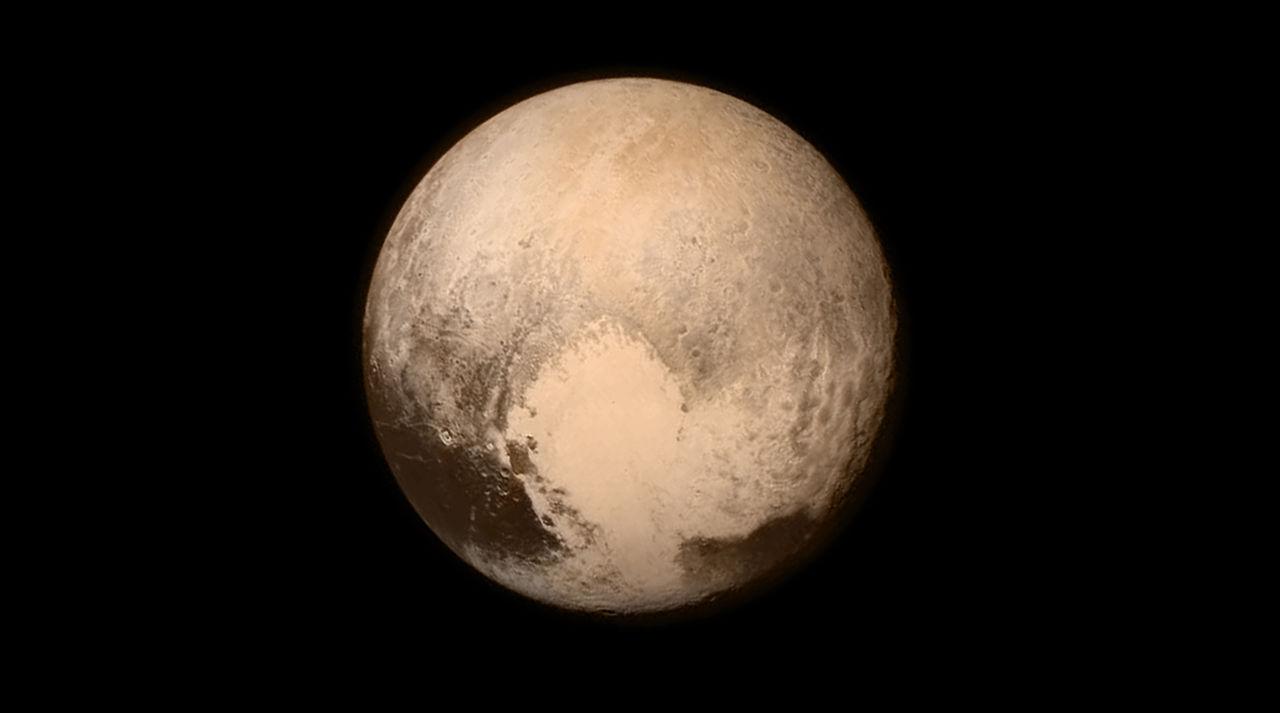 Plutos hjärta har fått ett namn