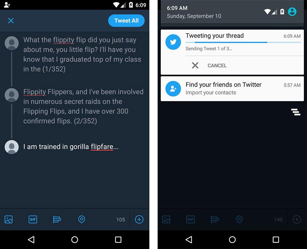 Nu blir det enklare att skicka långa meddelanden på Twitter
