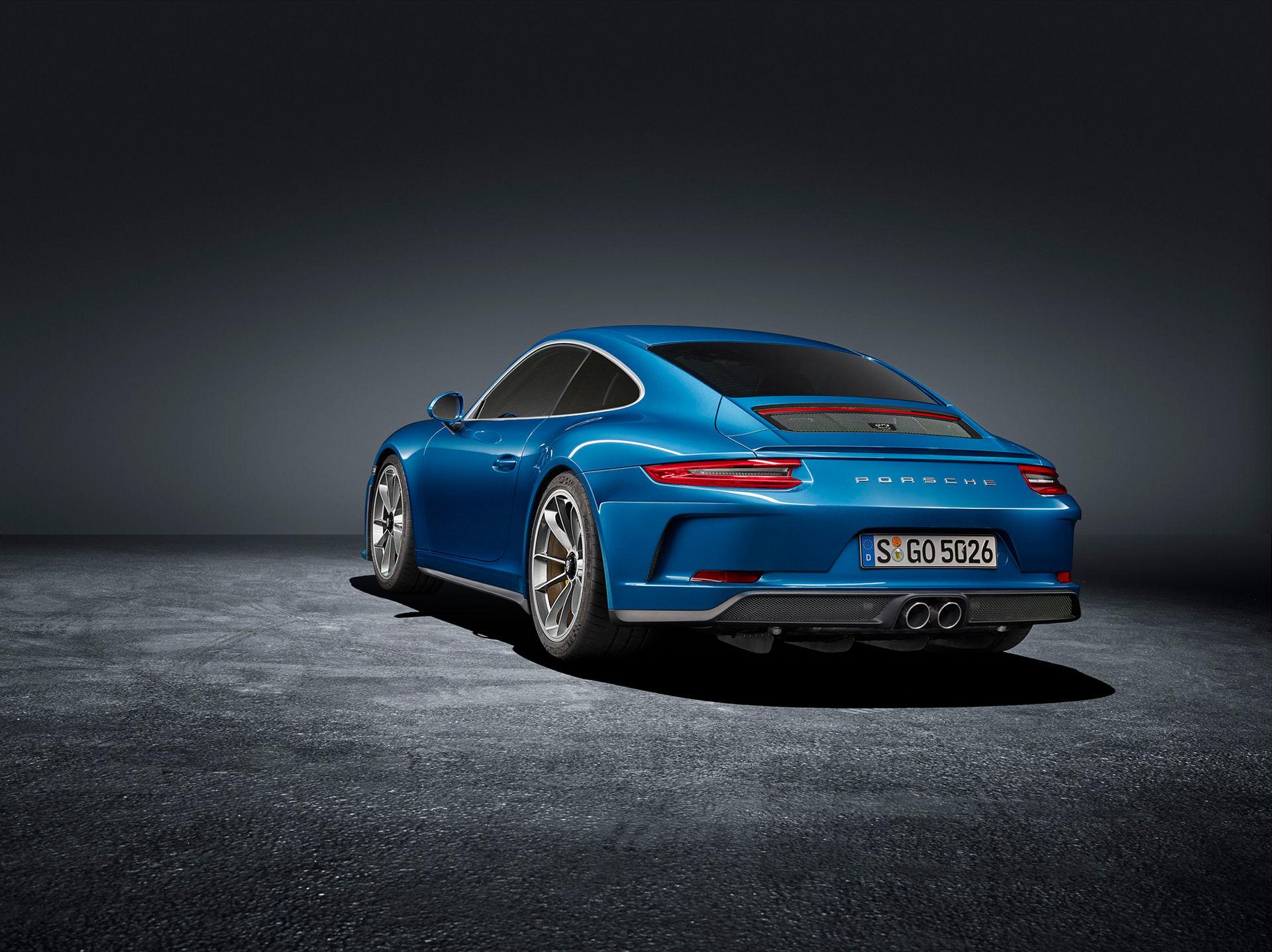 Porsche presenterar naken 911 GT3