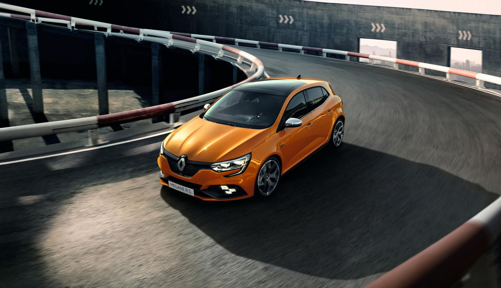 Renault visar upp nya Mégane R.S.