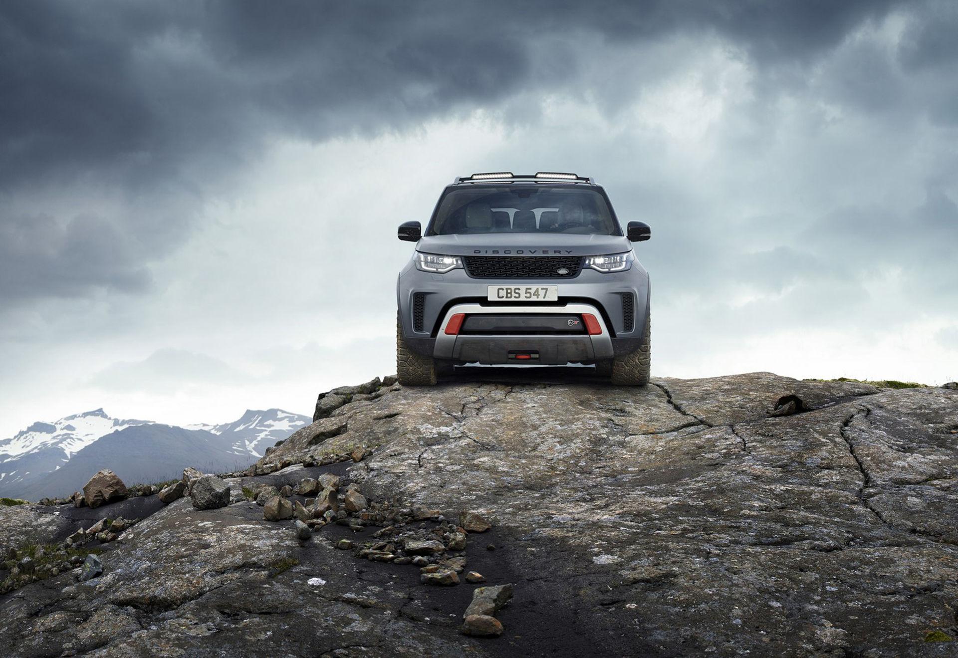 Land Rover presenterar Discovery med 525 hästar