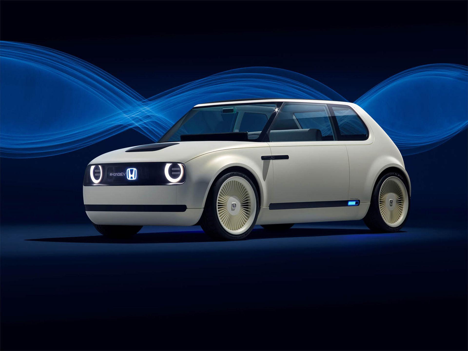 Retrotufft elbilskoncept från Honda