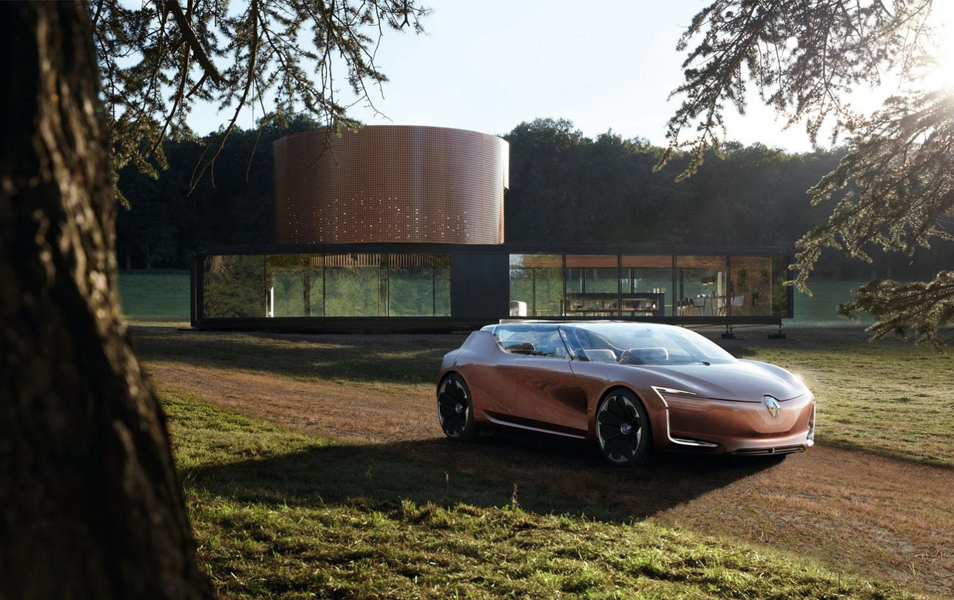 Renaults nya konceptbil är en naturlig del av huset