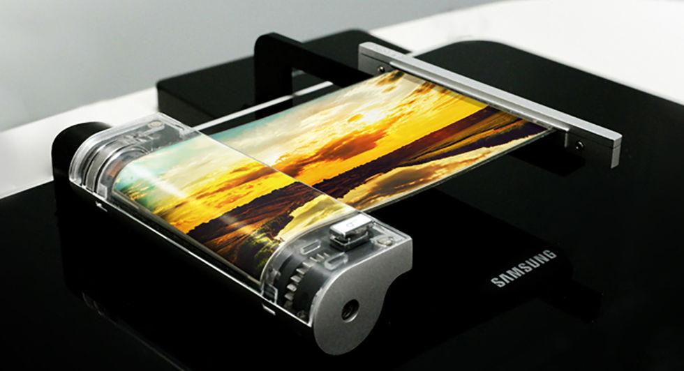 Nästa års Galaxy Note kan få böjbar skärm