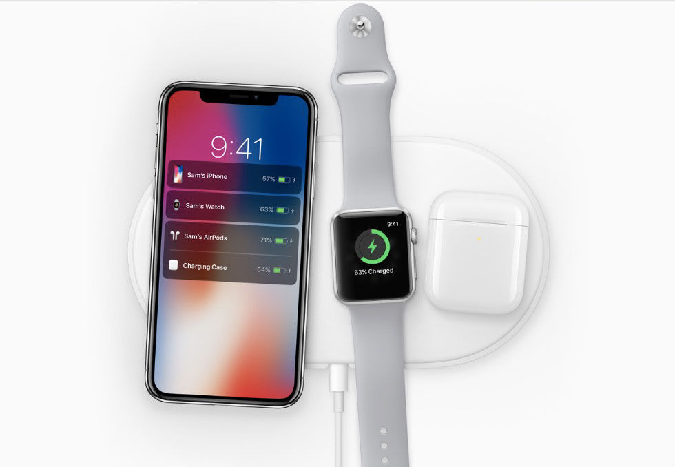 Apple visar trådlösa batteriladdningsdockan AirPower